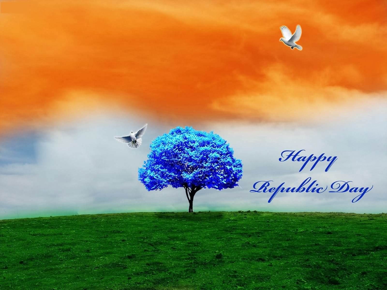 Indian Flag Hd Nature: Happy Republic Day HD Wallpaper