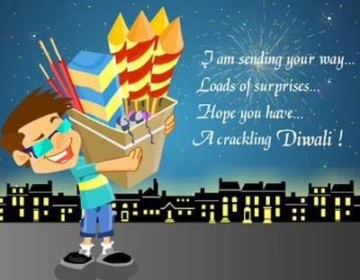 I Am Sending Your Way Loads Of Surprises Funny Diwali Picture For Whatsapp