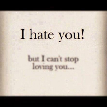 I Hate You But I Can\'t Stop Loving You