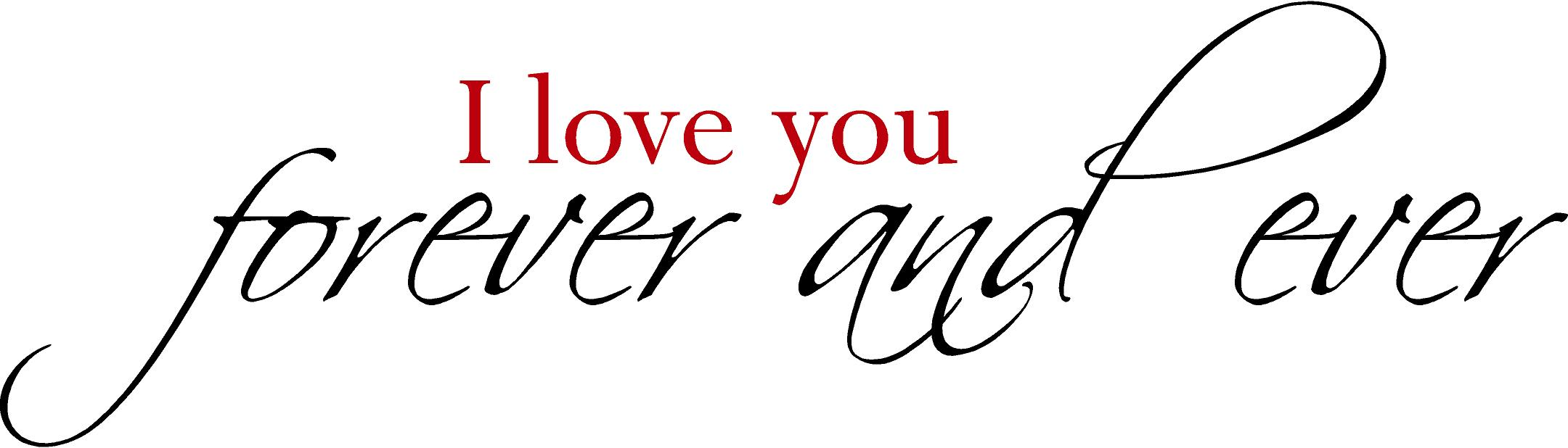 I Love You Forever And Ever Header Image