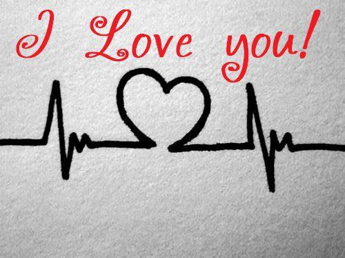 I Love You Heartbeat Picture