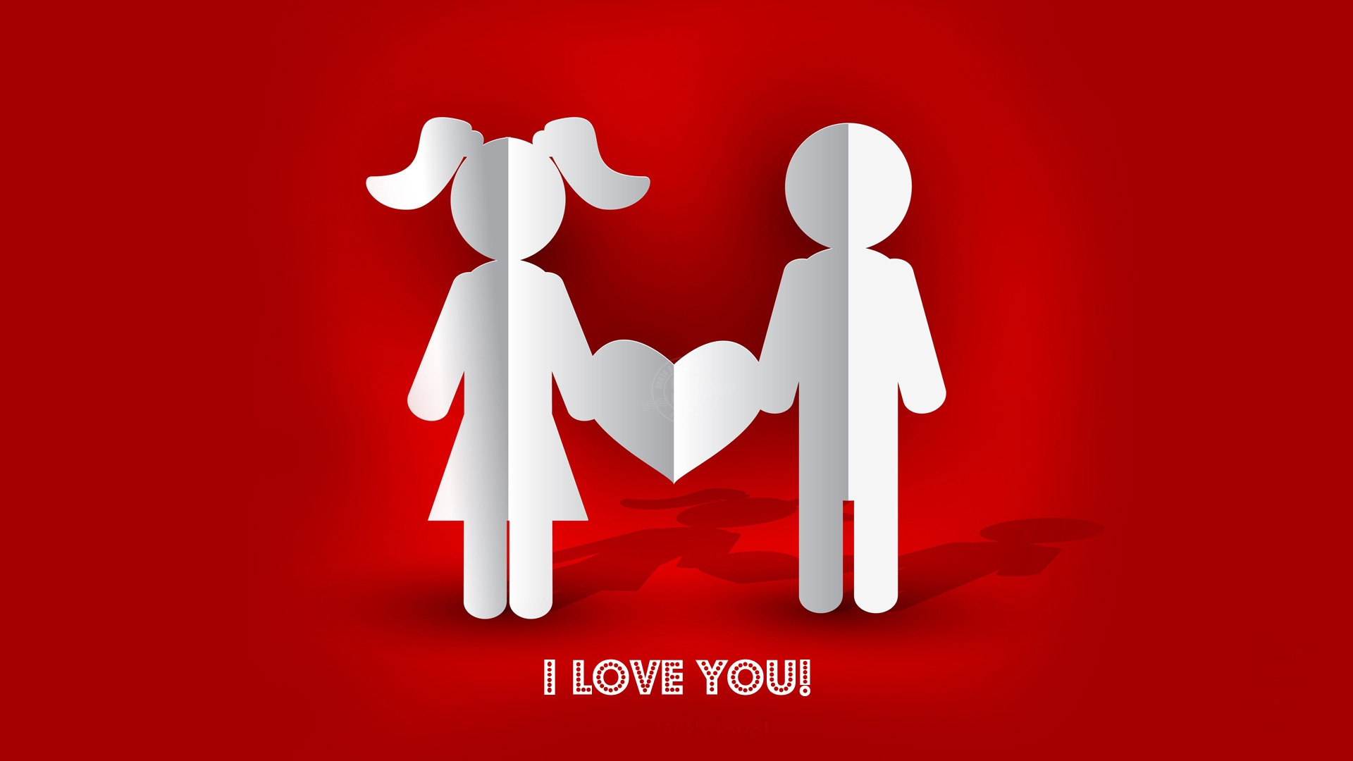 Wallpaper I Love You Photo : I Love You Heart Wallpaper