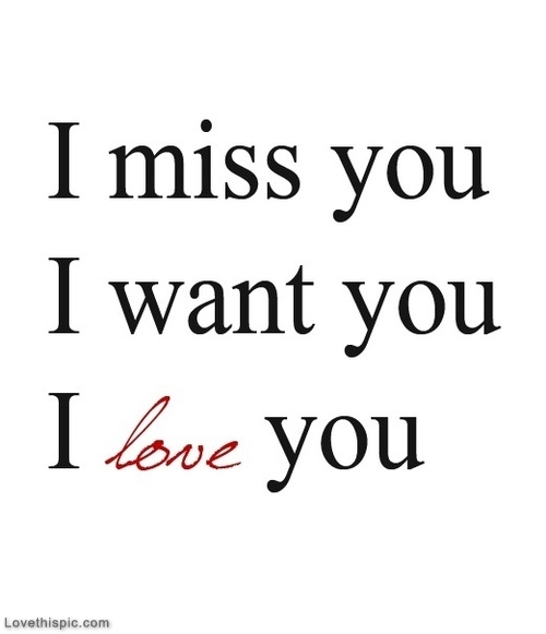 The Best I Miss You I Love You Images