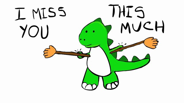i miss you this much funny dragon picture