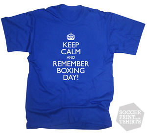 Keep Calm And Remember Boxing Day Tshirt Picture