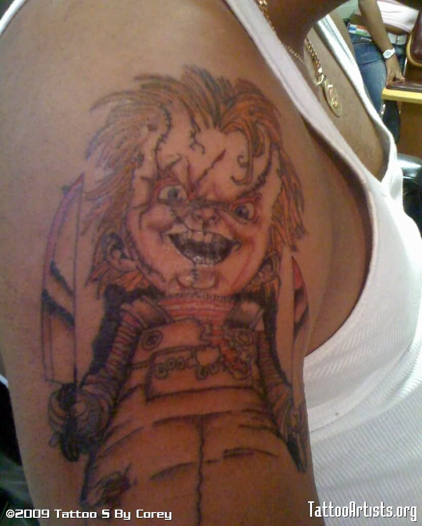 20 best chucky tattoo images and designs. Black Bedroom Furniture Sets. Home Design Ideas