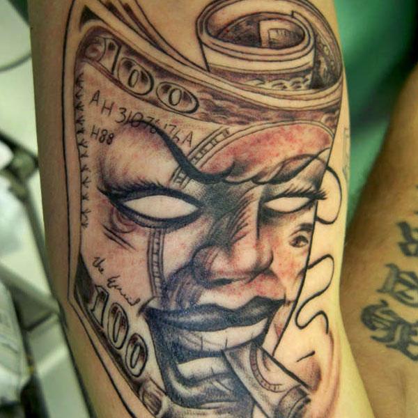 Marijuana Tattoos Designs Ideas And Meaning: 18 Unique Money Tattoo Design Ideas And Images
