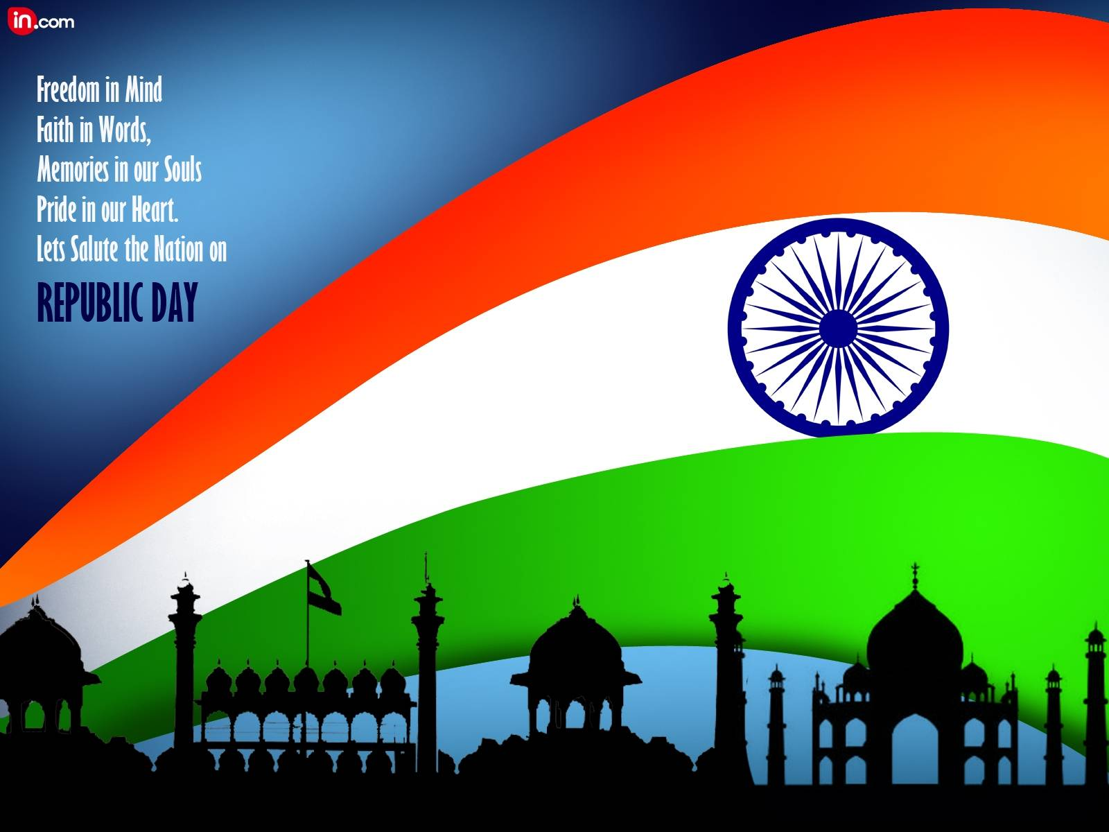 Gandhi Ji With Indian Flag Hd: 45 Best Republic Day Wallpapers
