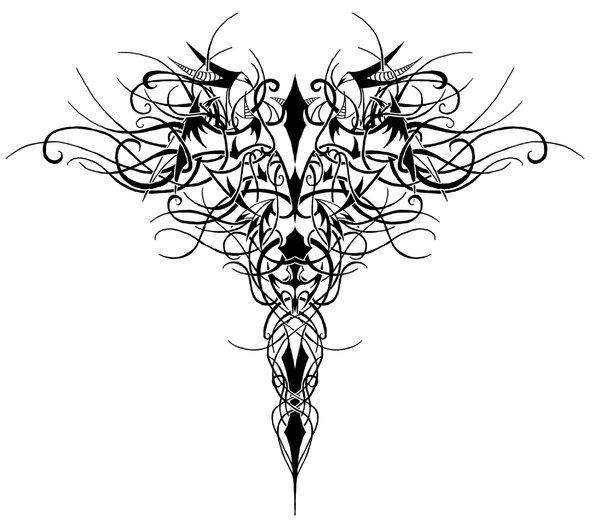 black ink 3d medical symbol tattoo design for half sleeve. Black Bedroom Furniture Sets. Home Design Ideas