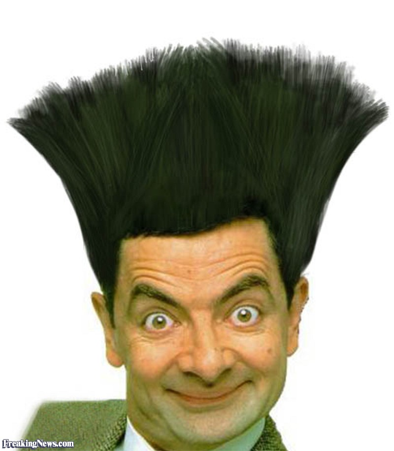 Mr Bean Funny Haircut