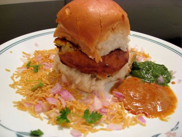 Famous mumbai vada pav recipe forumfinder Image collections