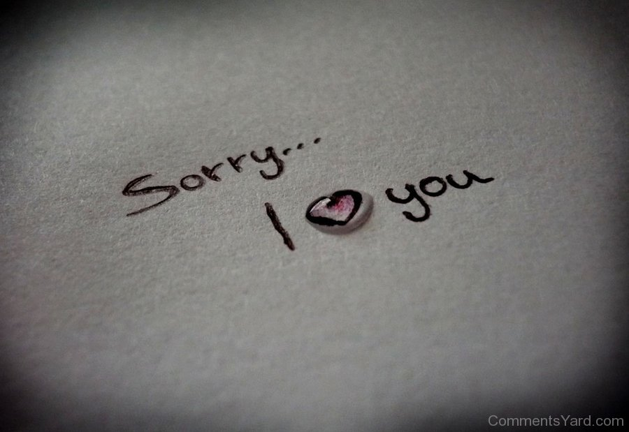 23 Delightful Sorry Love Pictures