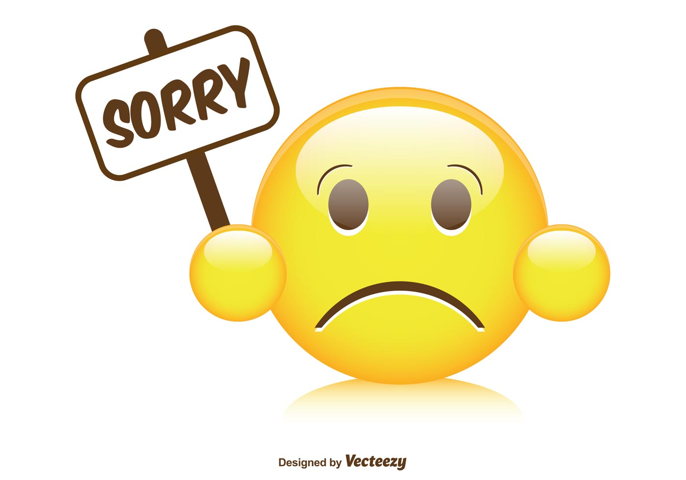 Sorry With Emoticon Picture