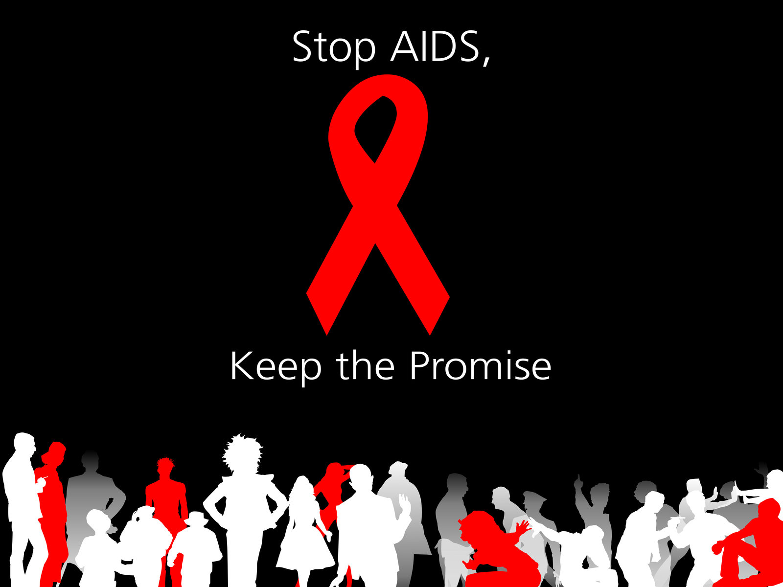 Aids Ribbon World Aids Day