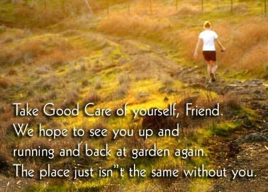 15 Best Take Care Friend Pictures