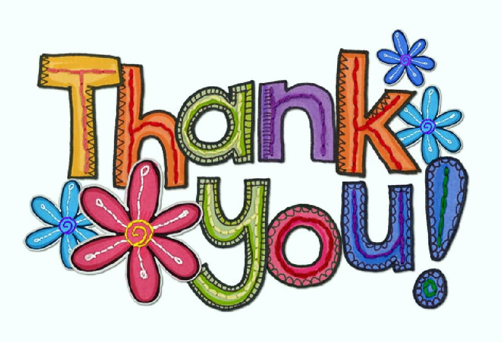 thank you colorful clipart rh askideas com