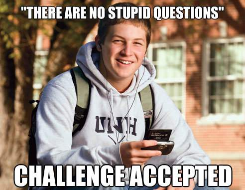 Funny Memes For Dumb People : 20 very funny questions