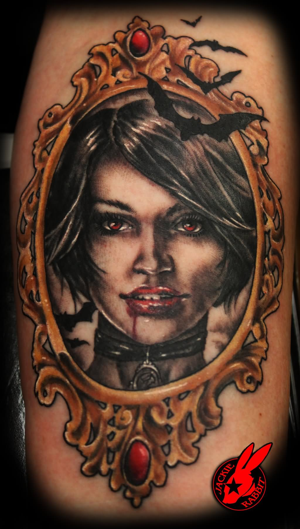 26 awesome vampire bat tattoos