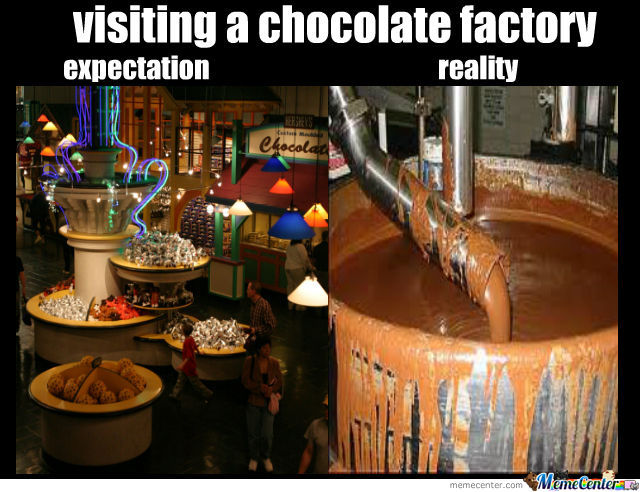 Girl In Chocolate Bar Meme