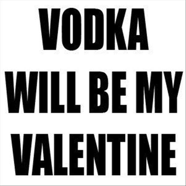 vodka will be valentine funny picture