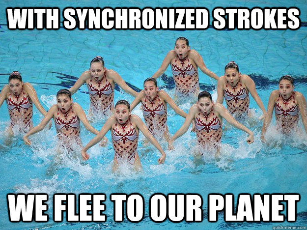 We Flee To Our Planet Funny Swimming Meme 15 most funny swimming pictures