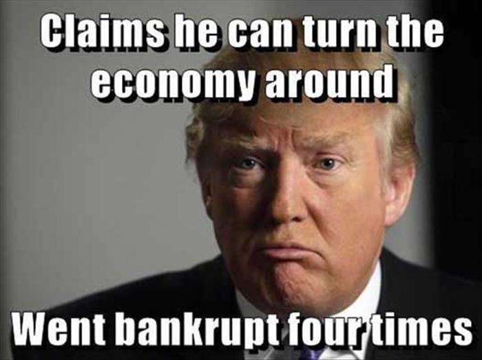 Is World Economy Going To Trump Funny Pictures Www