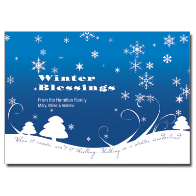 11 beautiful winter greeting cards winter blessings greeting card m4hsunfo