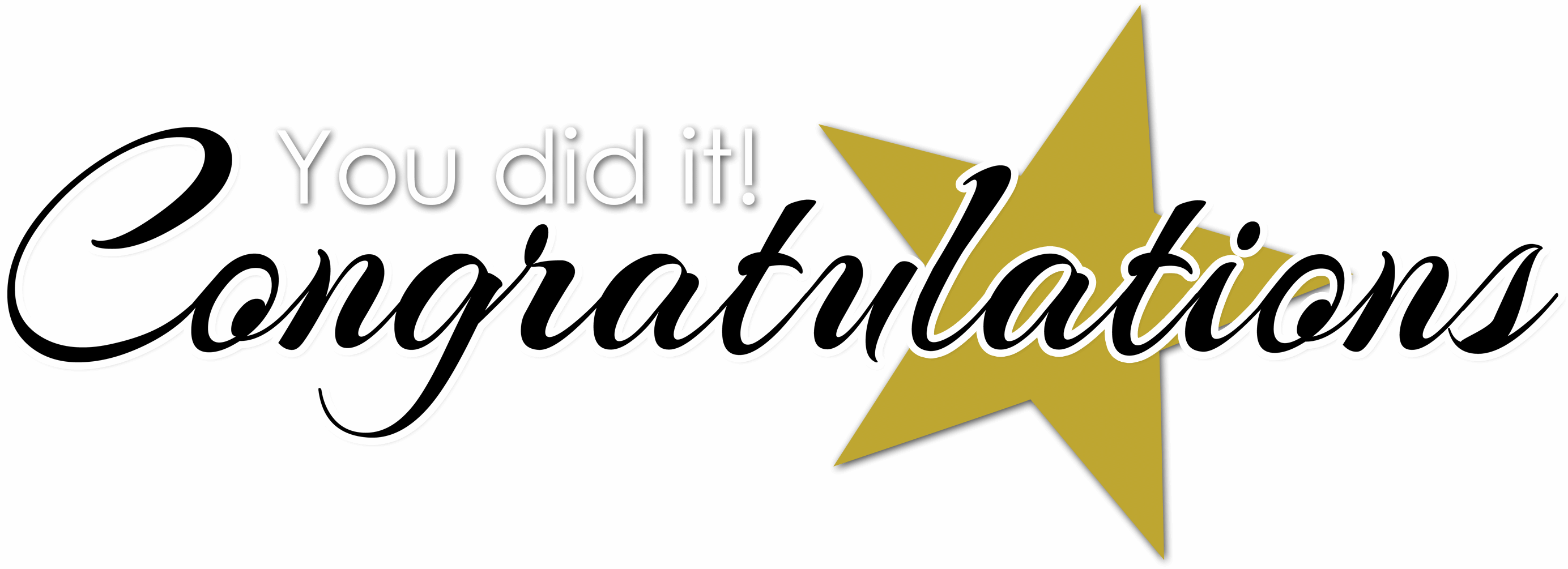 Clip Art Clipart Congratulations congratulations clipart you did it header image