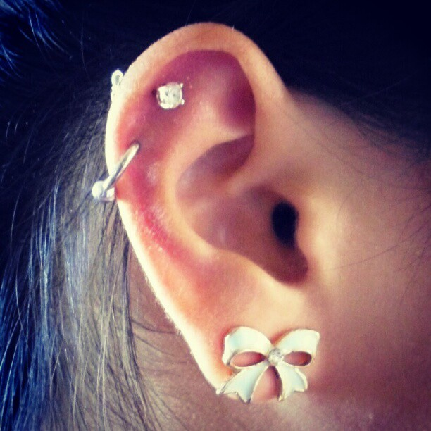 Ear Piercing Stud Or Ring