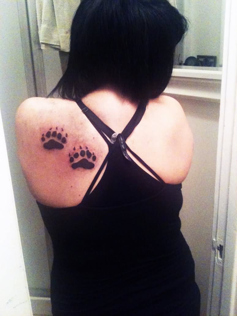 27 cute paw tattoos images for Black claw tattoo