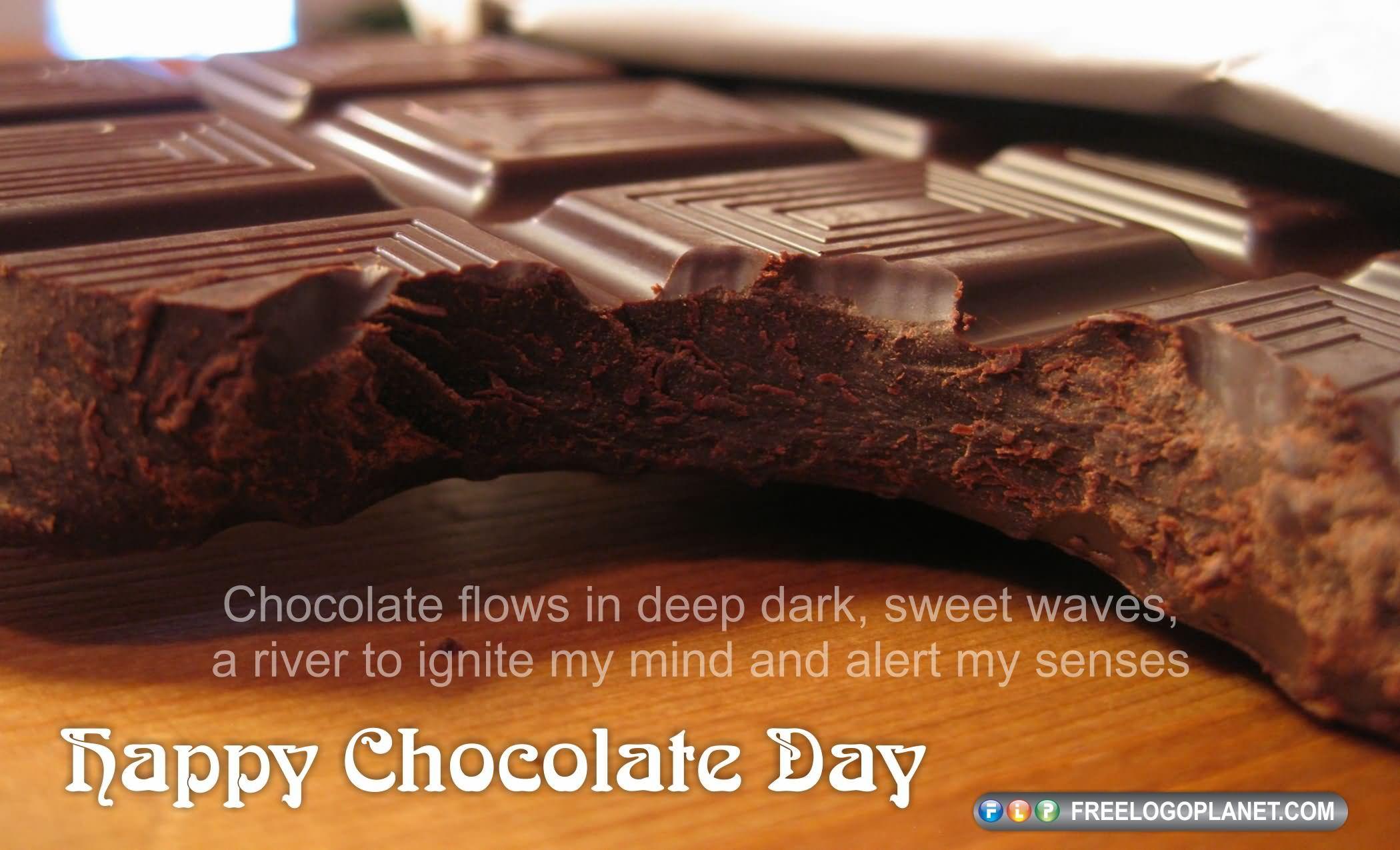 Happy Chocolate Day 2017 Chocolates In Heart Box