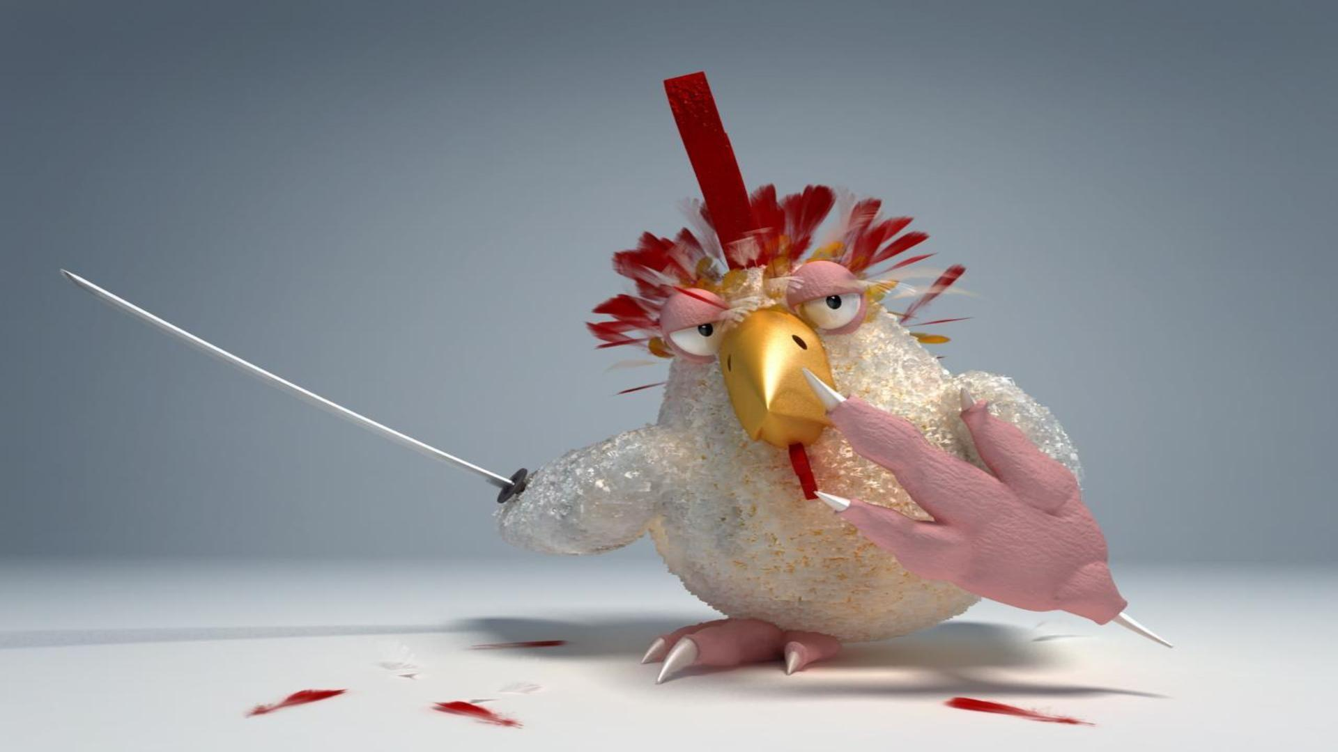 27 Very Funny Chicken Pictures