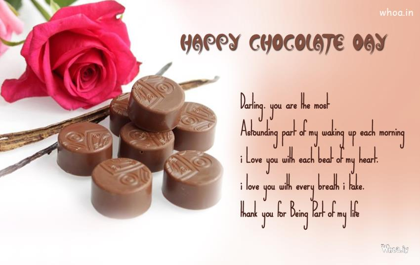 26 wonderful chocolate day pictures happy chocolate day darling you are the most astounding part of my waking up each morning m4hsunfo