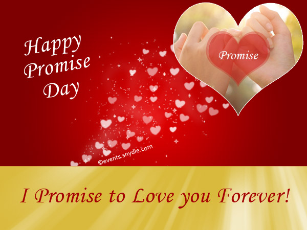 happy promise day i promise to love you forever