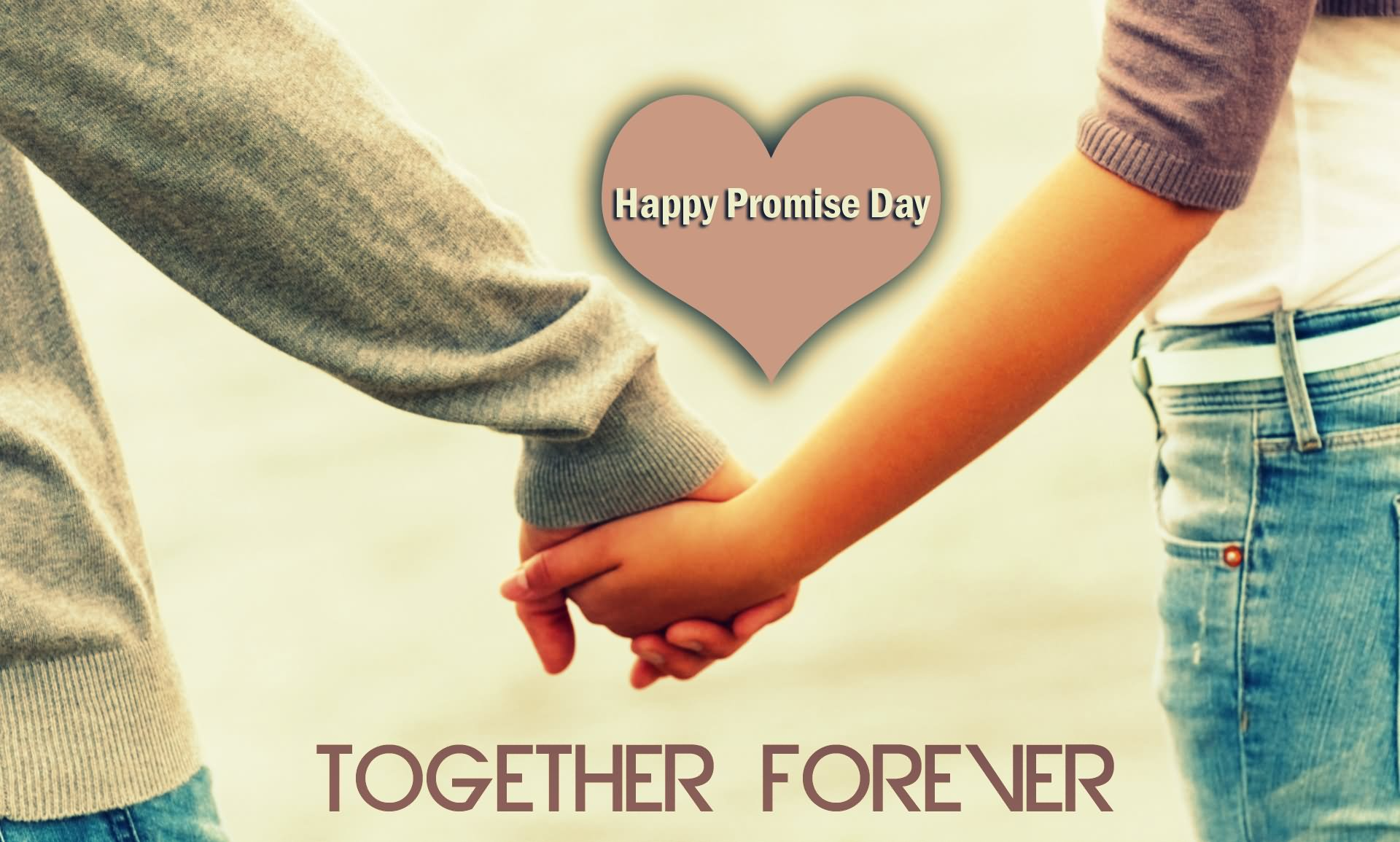 Happy Promise Day Together Forever