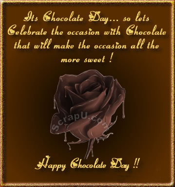 50 happy chocolate day wish pictures and images its chocolate day so lets celebrate the occasion with chocolate that will make the occasion all the more sweet happy chocolate day m4hsunfo