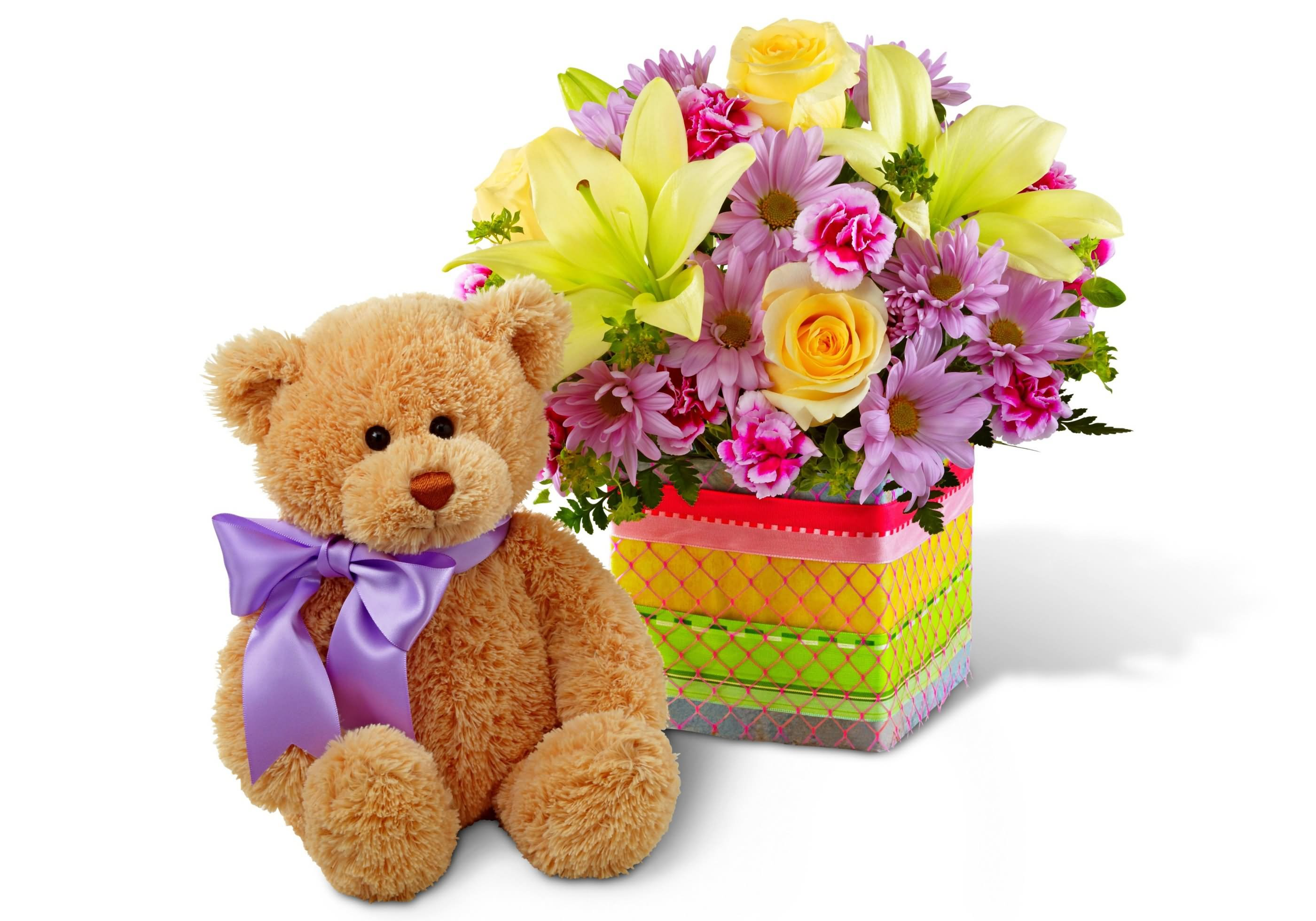 22 best teddy bear with flowers picture teddy bear with flowers bouquet for you izmirmasajfo