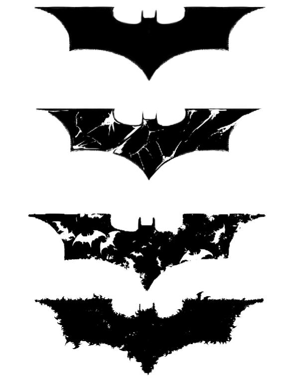 2 latest batman tattoo designs. Black Bedroom Furniture Sets. Home Design Ideas