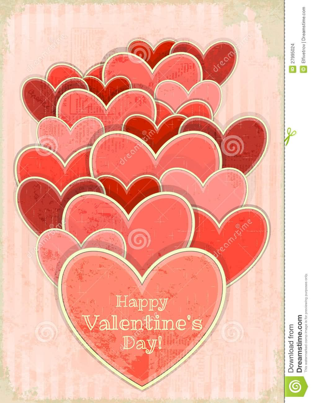 30 very best valentine day greeting cards beautiful hearts happy valentines day greeting card kristyandbryce Image collections