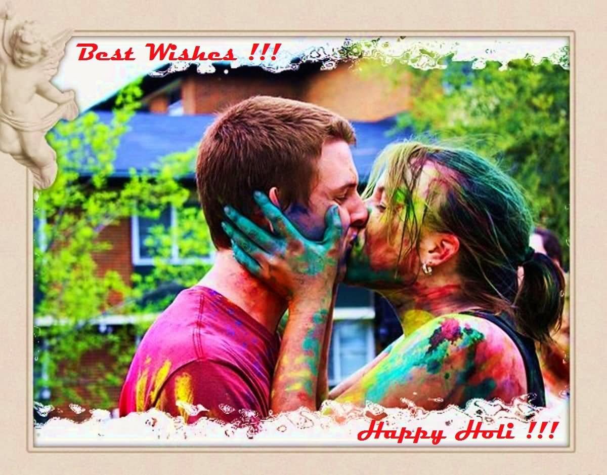 Beautiful Wallpaper Love Holi - Best-Wishes-On-Happy-Holi-Loving-Couple-Picture  Snapshot_932773.jpg
