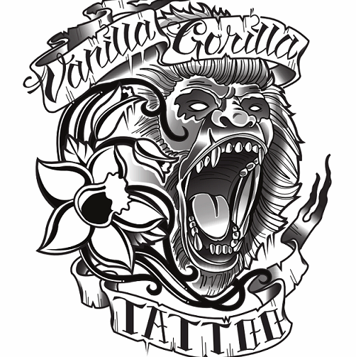 15 Cool Gorilla Tattoo Designs Images And Ideas