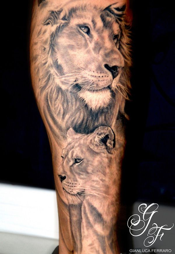 Lioness Tattoos: 10 Incredible Lioness Tattoo Images And Design Art Gallery