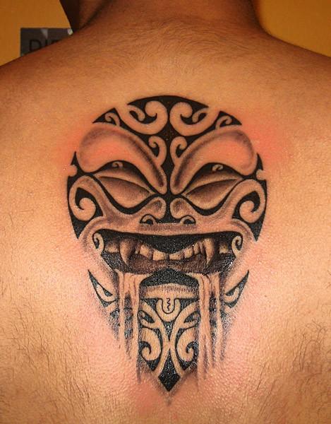 12 cool maori tattoo designs and ideas. Black Bedroom Furniture Sets. Home Design Ideas