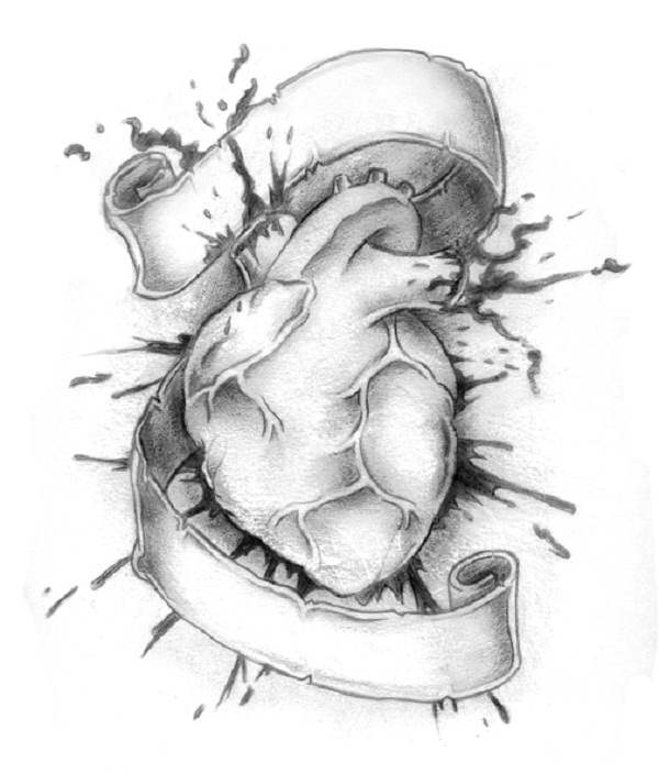 4 Real Heart Tattoo Design Ideas