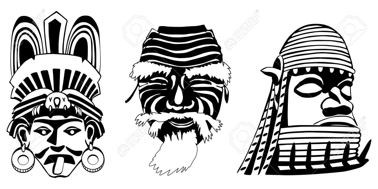 6 latest african tattoo designs and samples