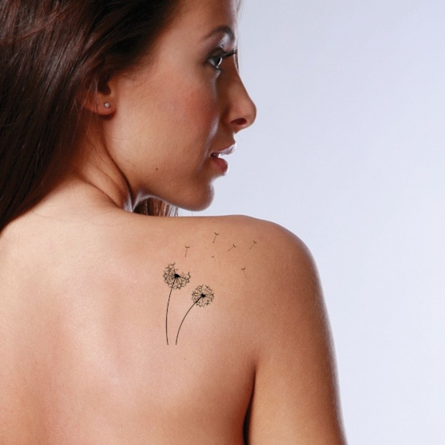 19 Cool Dandelion Tattoo Images , Pictures And Designs