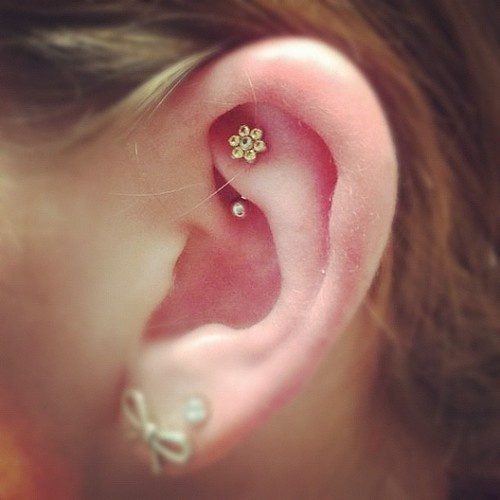 15 Inspirational Rook Piercing Pictures And Images Ideas  Rook Piercing Stud