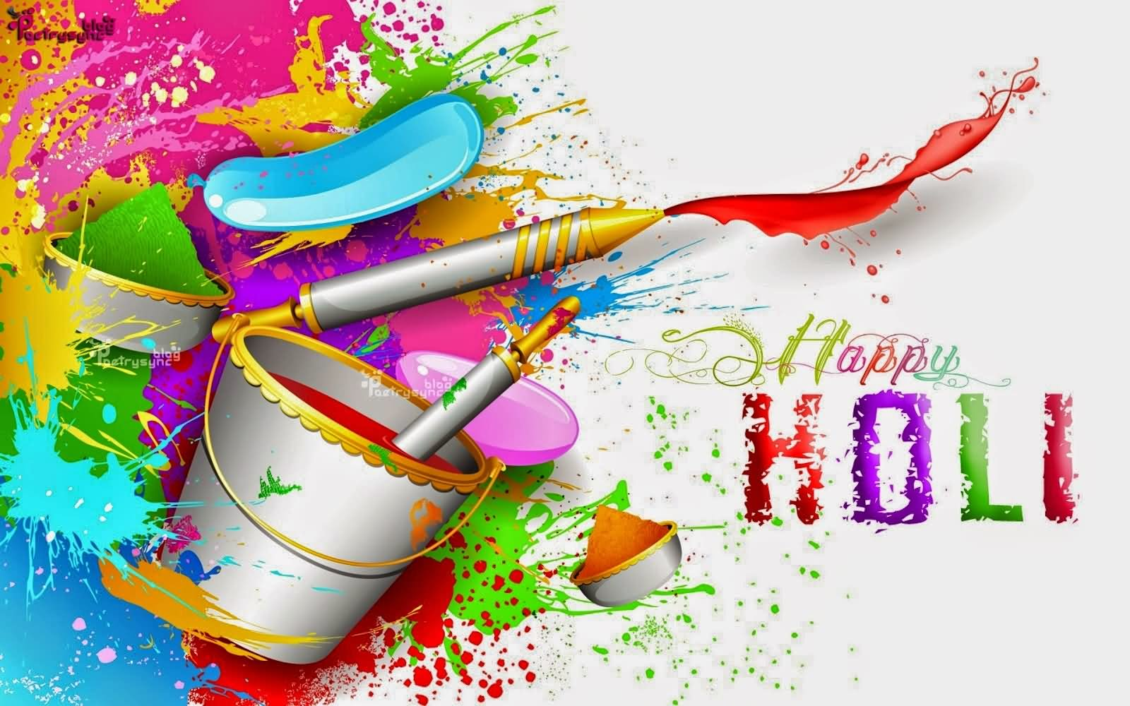 happy holi colorful hd wallpaper