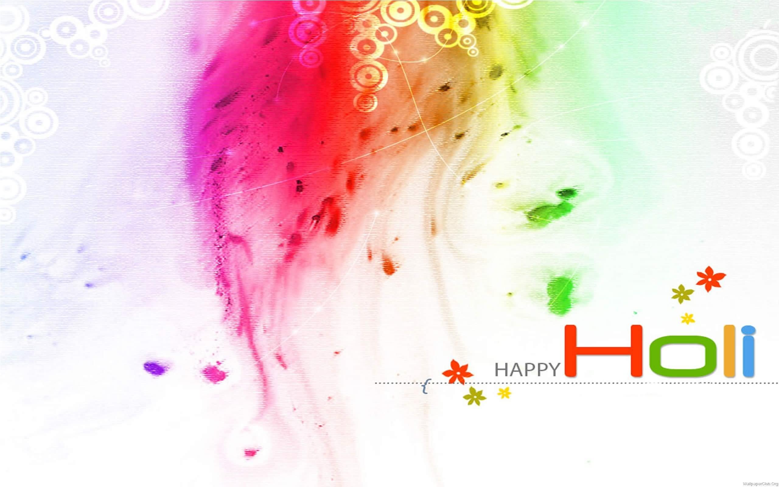 Happy Holi HD Wallpaper