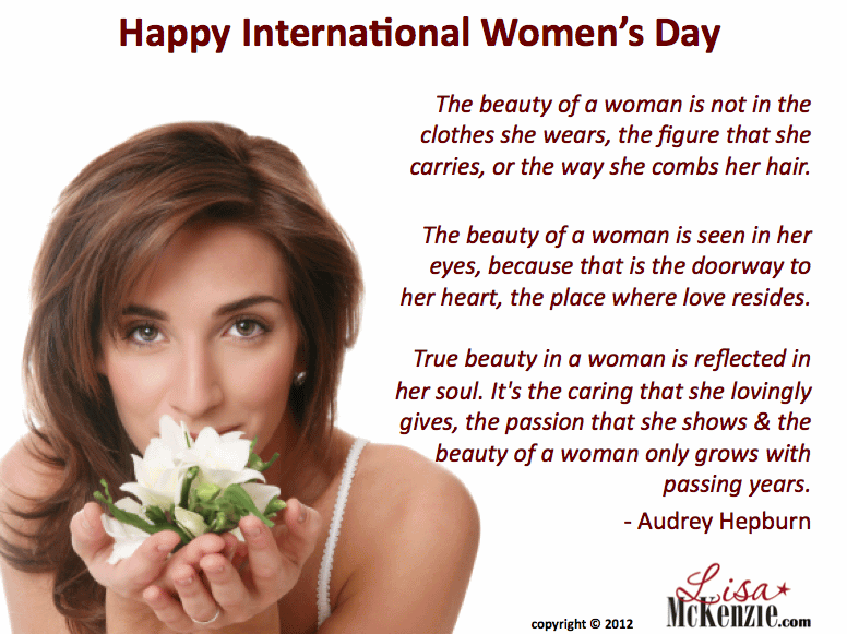 International Women S Day Quotes Messages: Happy International Women's Day Greetings